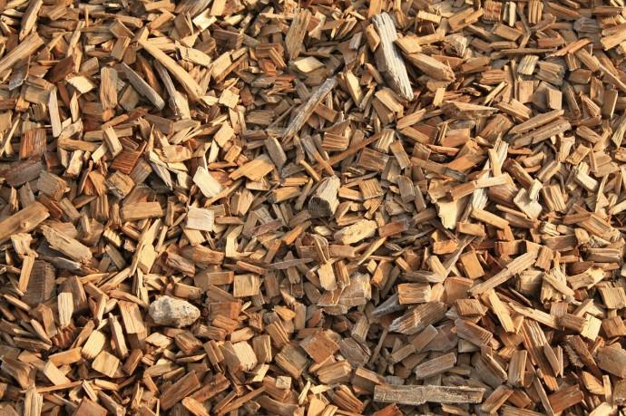 木材チップの写真