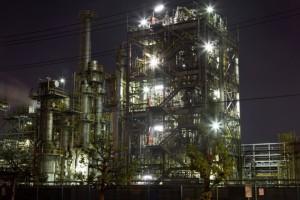 発電所の写真