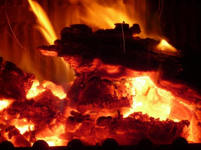 焼却の写真