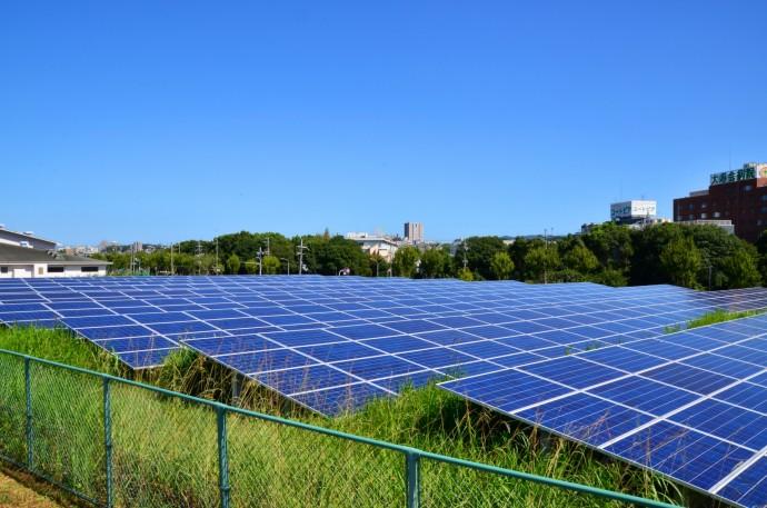 太陽光発電の写真