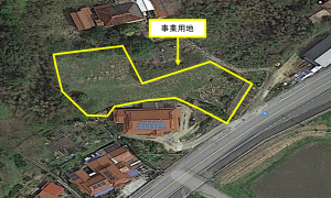 リンクスNO18010 山口県太陽光発電所
